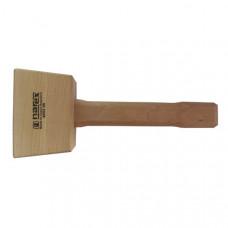 Houten hamer rechte kop, kopmaat 60X75X110 mm beuken hout