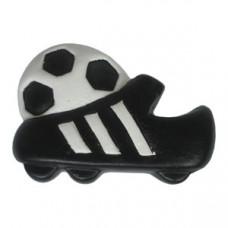 Meubelknop voetbalschoen