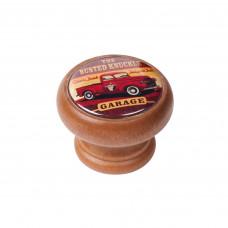 Meubelknop honing kleur hout old timer pick-up vintage Breda