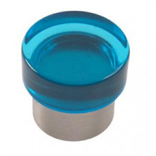 Meubelknop zamak acrylaat blauw kastknop kinderkamer Breda
