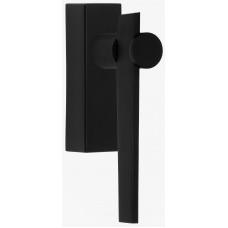 TENSE BB100-DKLOCK draaikiepgarnituur afsluitbaar linksdraaiend mat zwart