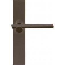 TENSE BB100P236SFC massieve deurkruk ongeveerd op schild blind brons