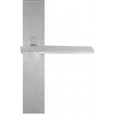 TENSE BB100P236SFC massieve deurkruk ongeveerd op schild blind mat roestvast staal