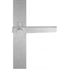 TENSE BB101P236SFC massieve deurkruk ongeveerd op schild blind mat roestvast staal