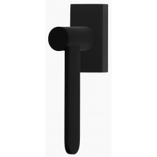 TENSE BB102-DK draaikiepgarnituur niet afsluitbaar rechtsdraaiend mat zwart