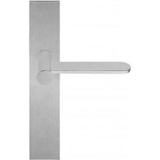 TENSE BB102P236SFC massieve deurkruk ongeveerd op schild blind mat roestvast staal
