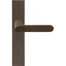 TENSE BB103P236SFC massieve deurkruk ongeveerd op schild blind brons
