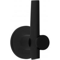 TENSE BB105-G massieve deurkruk geveerd op rozet mat zwart