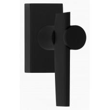TENSE BB105-DK draaikiepgarnituur niet afsluitbaar linksdraaiend mat zwart