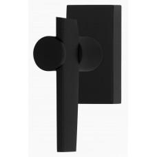 TENSE BB105-DK draaikiepgarnituur niet afsluitbaar rechtsdraaiend mat zwart