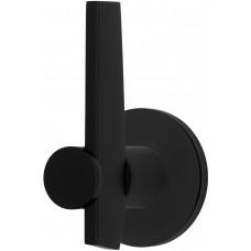 TENSE BB200V/d massieve knop vast op rozet mat zwart