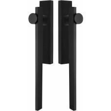 TENSE BB230PA massieve paarsgewijze set hefschuifdeurbeslag mat zwart
