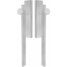 TENSE BB230PA massieve paarsgewijze set hefschuifdeurbeslag mat roestvast staal
