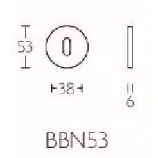 TENSE BBN53 sleutelplaatje 53mm brons