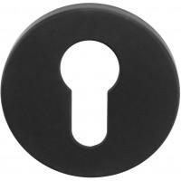 TENSE BBY53 cilinderplaatje 53mm mat zwart