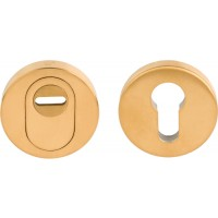 Basics veiligheidsrozet KT PVD mat goud