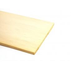 Balsa hout plat 1X100 - hobby hout