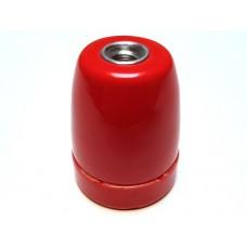 Porseleinen fitting rood