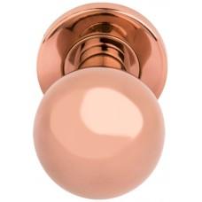Basics voordeurknop PVD rood koper - LB501