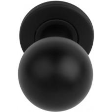 Basics voordeurknop mat zwart - LB501
