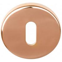 Basics sleutelgat rozet PVD glans koper