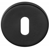 Basics sleutelgat rozet mat zwart