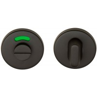 Basics toiletgarnituur ronde rozet mat zwart