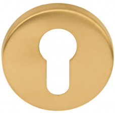 Basics cilindergat rozet PVD mat goud