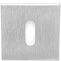 TENSE/SQUARE LSQBN50 sleutelgatplaatje mat roestvast staal