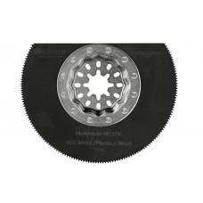 Multiblade zaagblad halve maan - starlock -voor hout - metaal tot 2mm - koper - aluminium - spijkers - pvc - kunststof