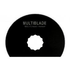 Multiblade zaagblad halve maan - supercut -voor hout - metaal tot 2mm - koper - aluminium - spijkers - pvc - kunststof