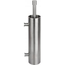 PIET BOON PB301 toiletborstel met muurbevestiging mat roestvast staal AISI 316