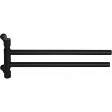 PIET BOON PB450 draaibare handdoekstang mat zwart