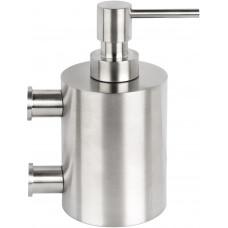 PIET BOON PB501 zeepdispenser met muurbevestiging mat roestvast staal AISI 316