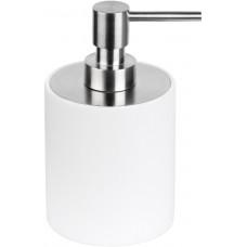 PIET BOON PB502 zeepdispenser vrijstaand mat roestvast staal AISI 316/wit Corian®