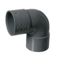 PVC lijmbocht 90° 32 mm, mof - mof