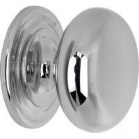 Meubelknop bolknop glans nikkel - 20 mm