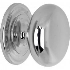 Meubelknop bolknop glans nikkel - 25 mm
