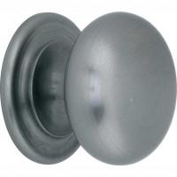 Meubelknop bolknop mat nikkel - 20 mm