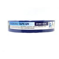 Schilders afplaktape UV 25 mm - blauw