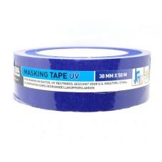 Schilders afplaktape UV 38 mm - blauw