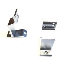 Leuninghouder aluminium