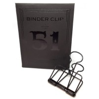 Binder clip 51 zwart- Tools to Liveby