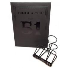 Binder clip 51 zwart- Tools to Liveby