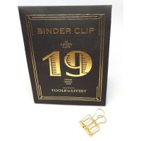 Binder clip 19 goudkleurig- Tools to Liveby