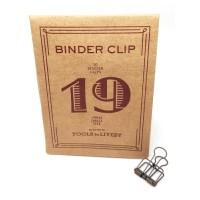 Binder clip 19 bronskleurig- Tools to Liveby
