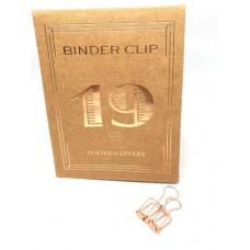 Binder clip 19 rosé- Tools to Liveby