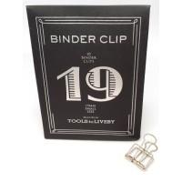 Binder clip 19 zilverkleurig- Tools to Liveby