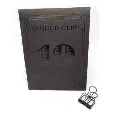 Binder clip 19 zwart- Tools to Liveby