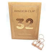 Binder clip 32 rosé- Tools to Liveby